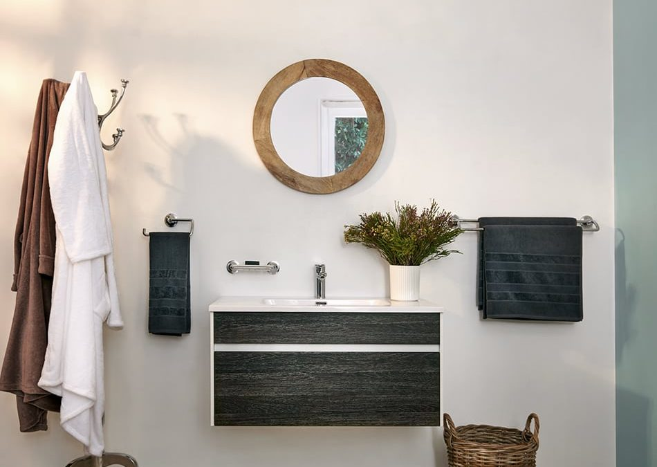 Genius Storage Solutions for Small Bathrooms