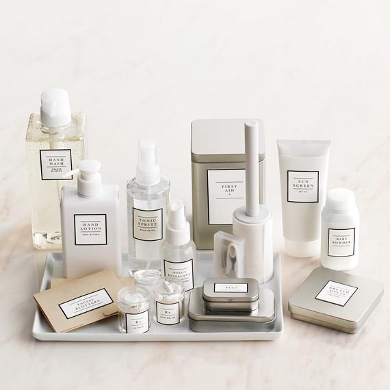 Wedding Bathroom Basket Essentials