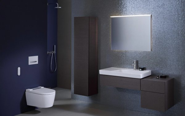 Geberit Metallic Bathroom Tiles