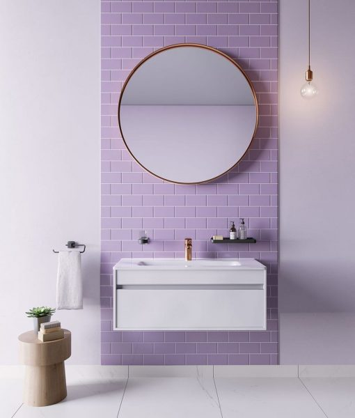Liquidred Subway Bathroom Tiles