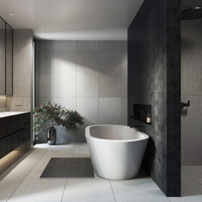 luxurious modern bathroom design