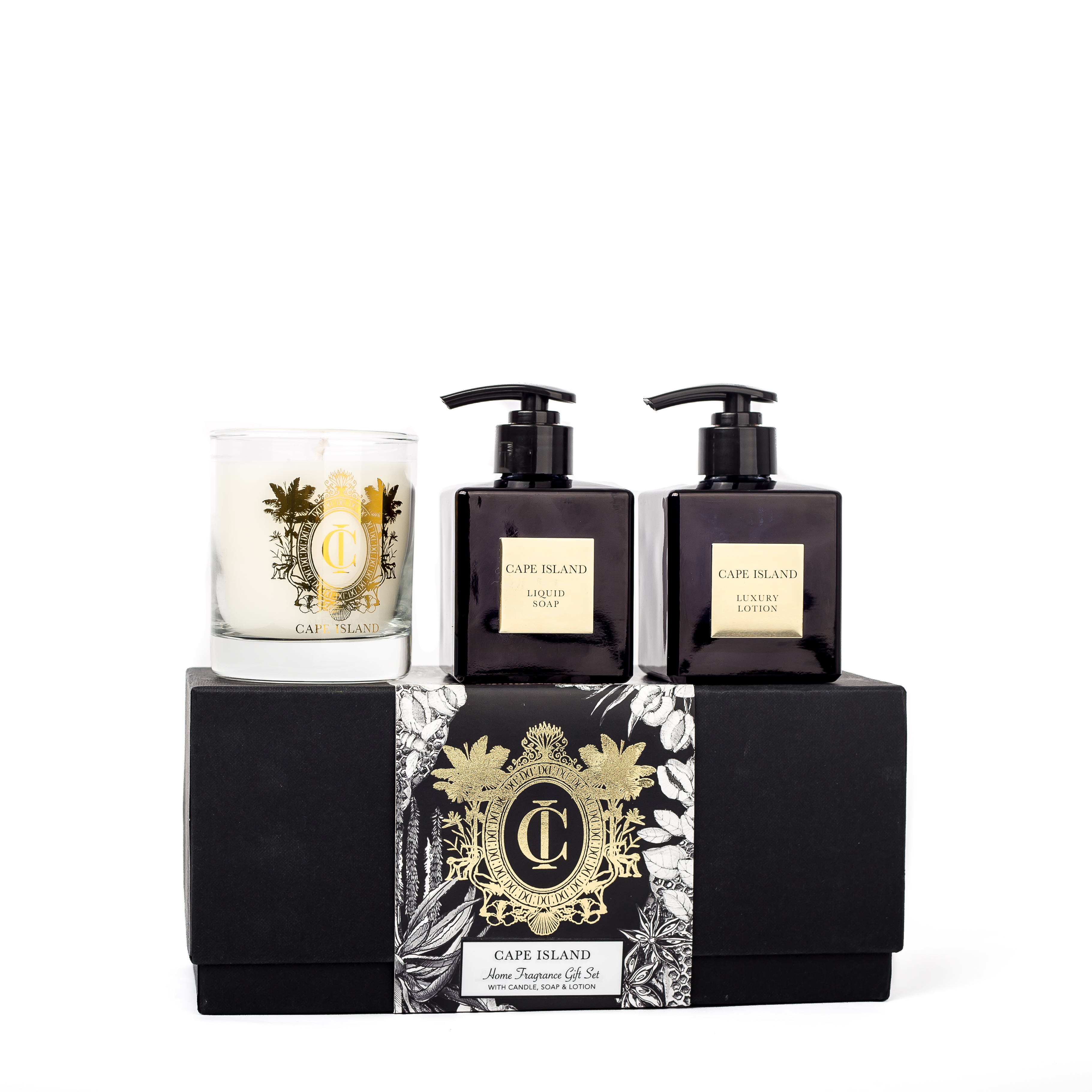 Black Gold Soap, Lotion and 250ml candle