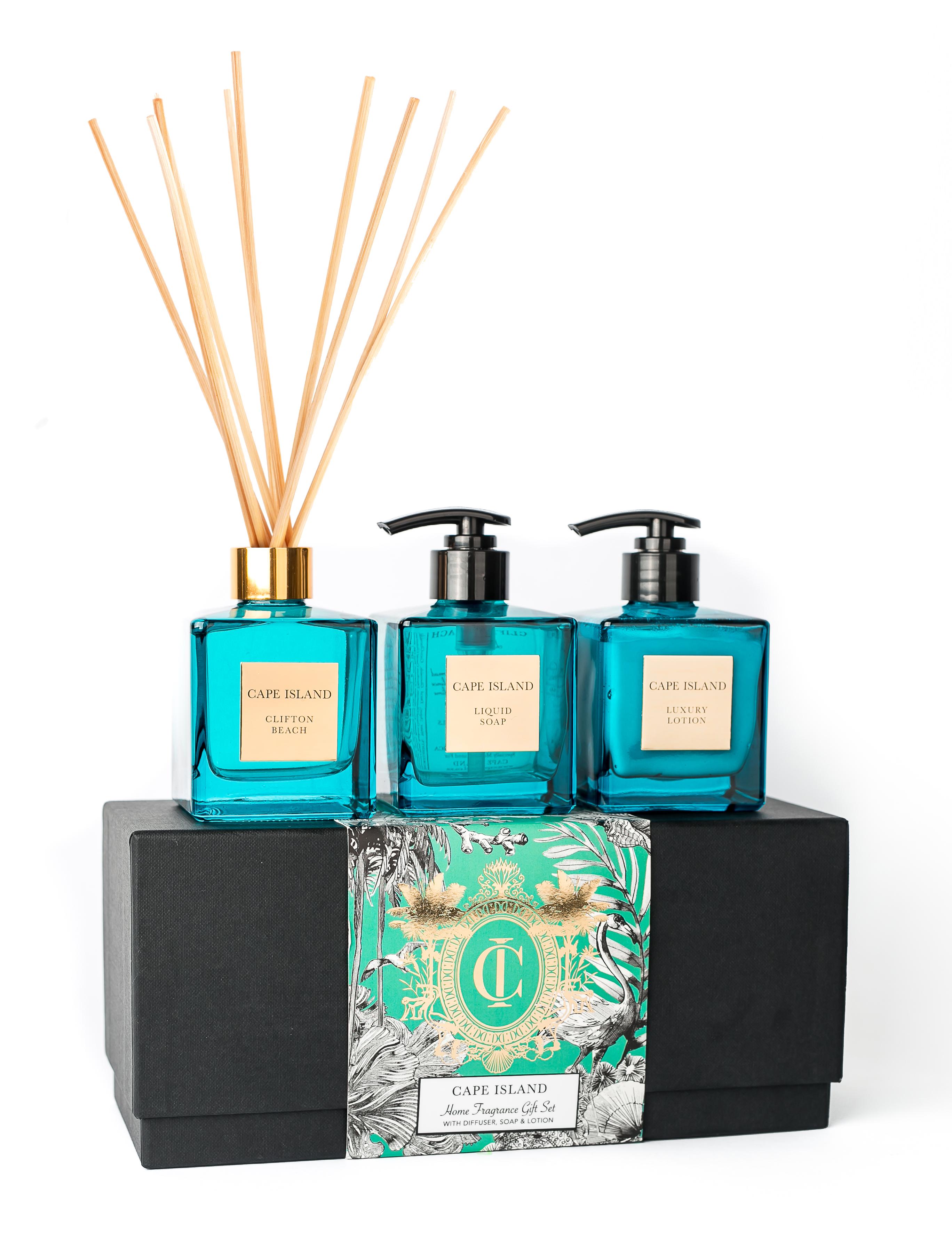 Clifton Beach Soap, lotion, 150ml Diffuser