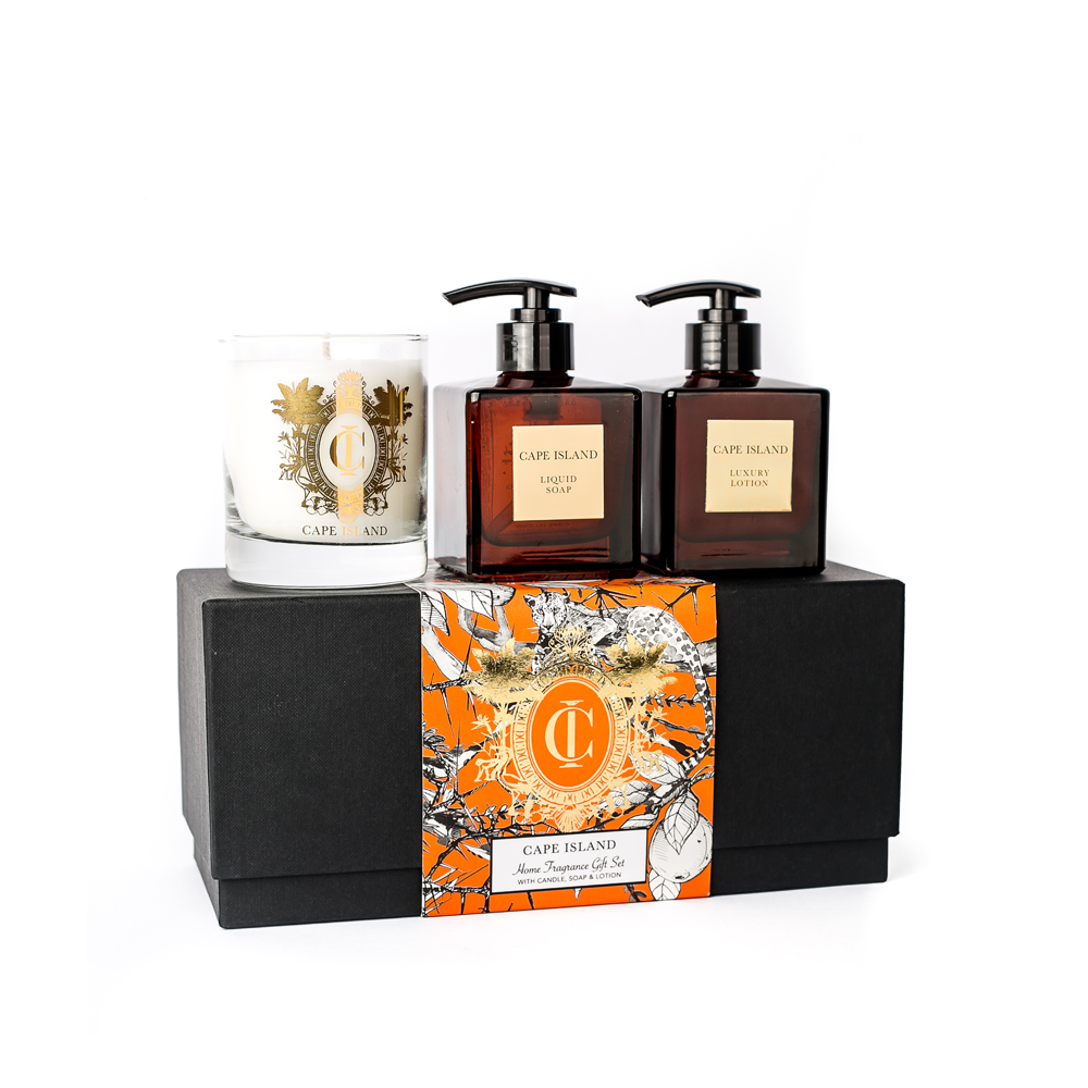 Safari Days Soap, Lotion and 250ml Candle